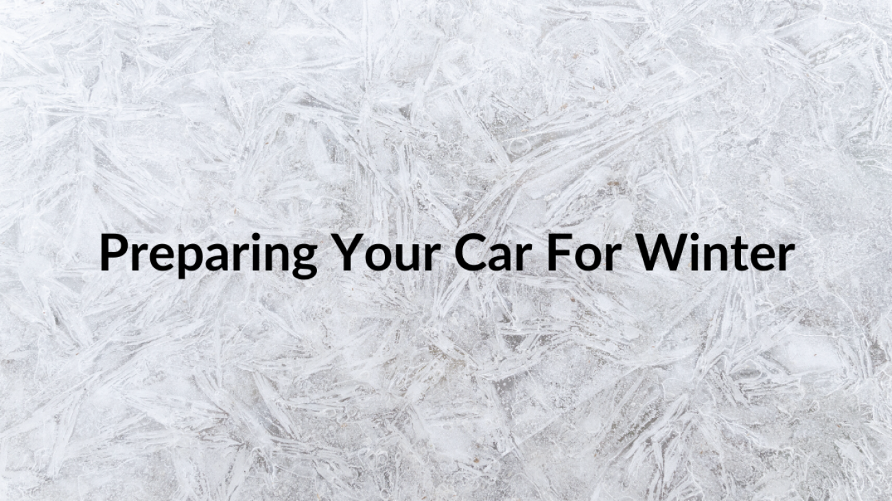 Preparing your car for winter